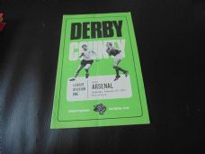 Derby County v Arsenal, 1970/71